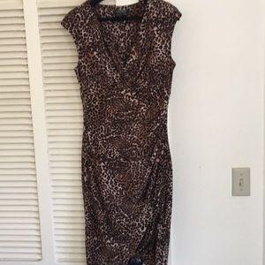 Faux wrap Ralph Lauren dress